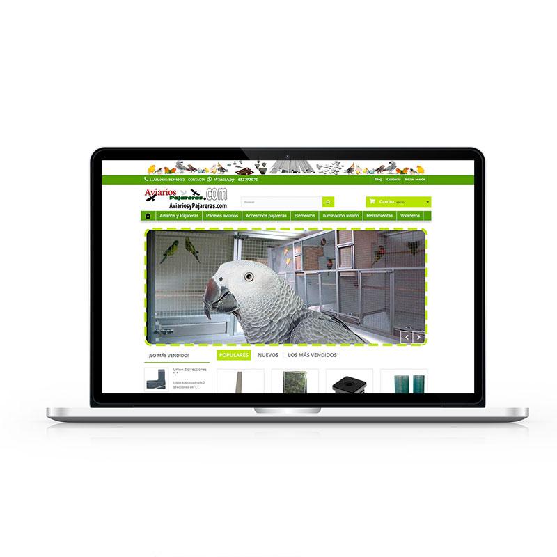 Tienda Online Aviarios y Pajareras
