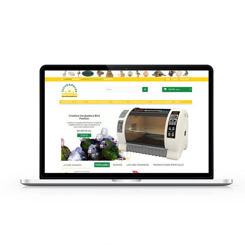 ABC Creación Digital. Tienda Online Incubadoras y Nacedoras